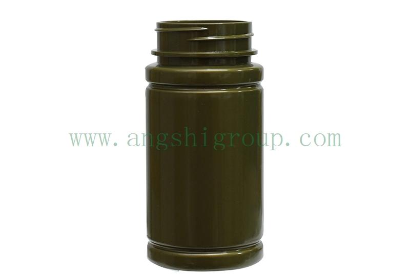 PET168ml-001军绿色瓶